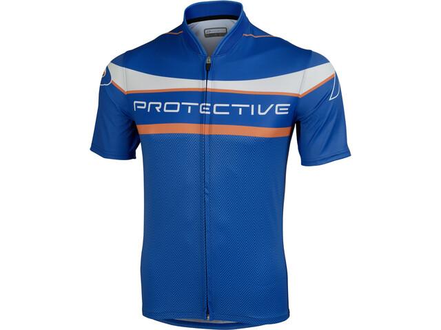 Protective Brisbane Kortærmet cykeltrøje Herrer, royal